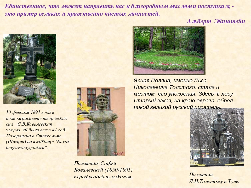 10 февраля 1891 года в полном расцвете творческих сил С.В.Ковалевская умерла,...