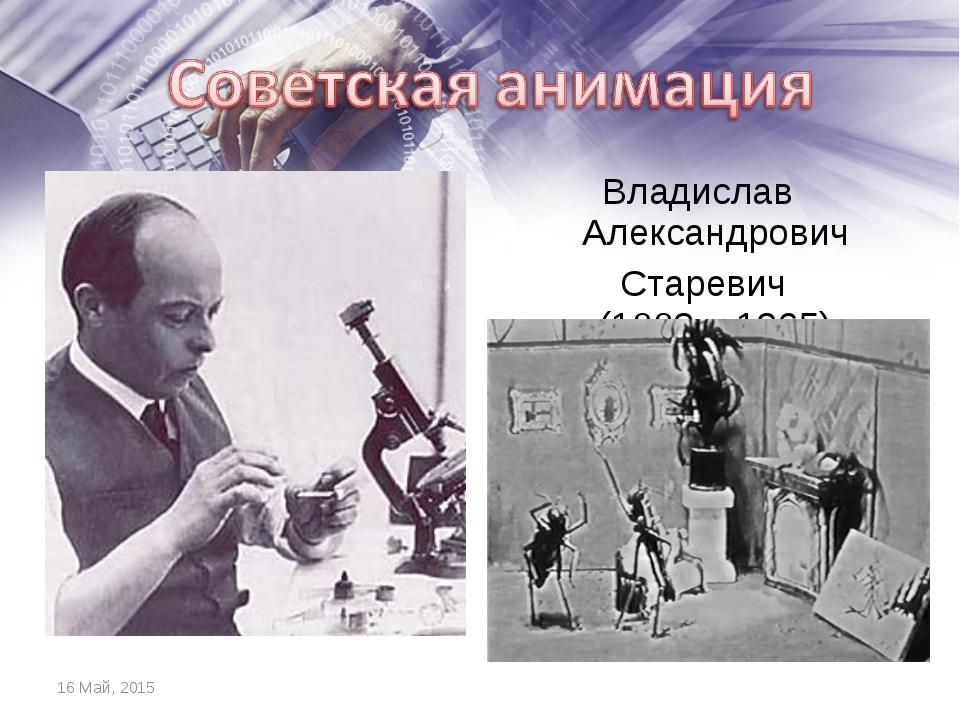 Владислав Александрович Старевич (1882 – 1965) *