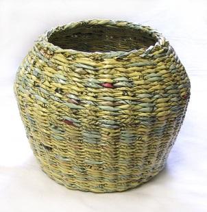 плетение из журналов