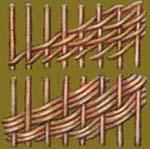 vv004 плетение наклонными рядами