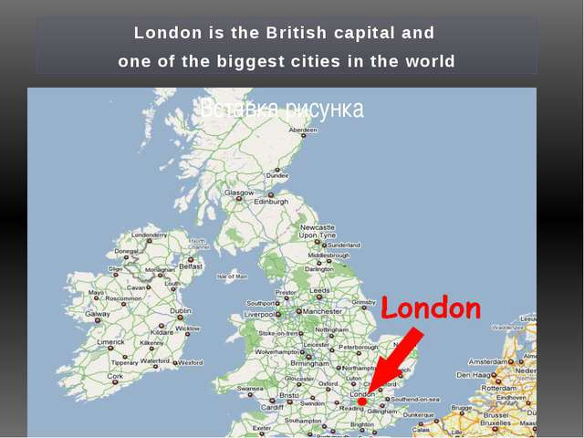 How can we get to London?