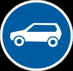 Дорожные знаки, Предписывающие дорожные знаки
