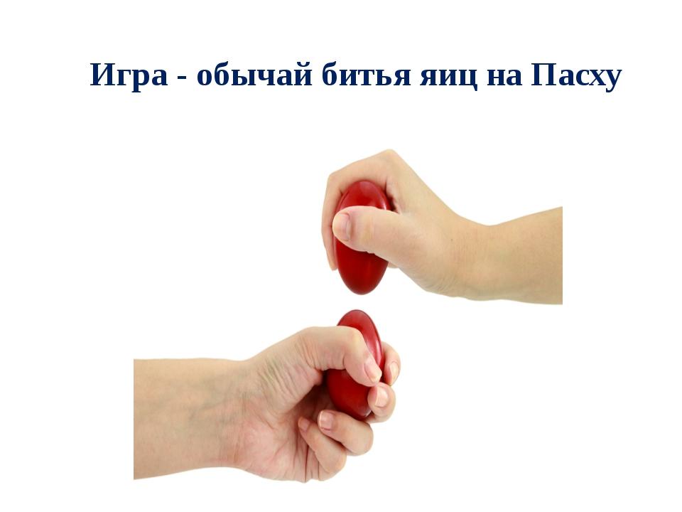 Игра- обычай битья яиц на Пасху