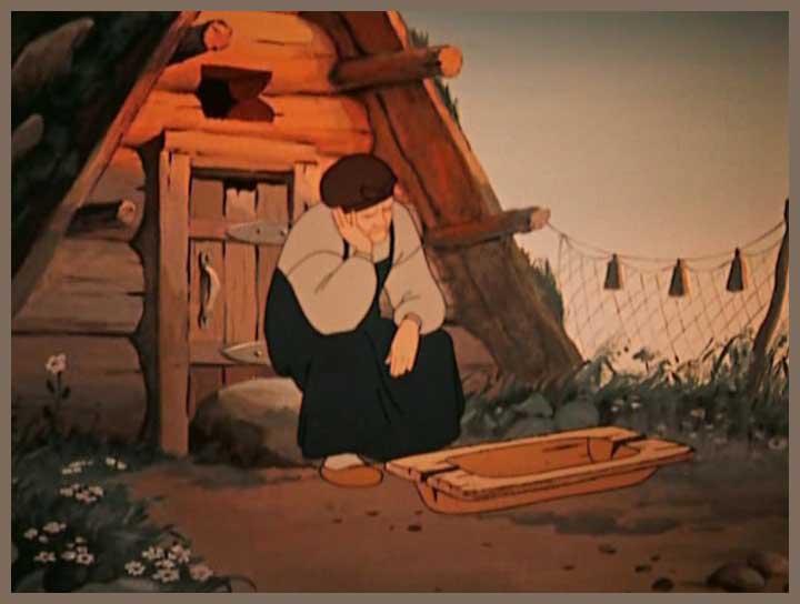 Сказки Пушкина. А пред нею разбитое корыто