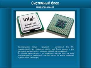 Системный блок оперативная память Оперативная память (ОЗУ, RAM от англ. Rand