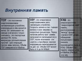 www.themegallery.com ВНУТРЕННЯЯ ПАМЯТЬ КОМПЬЮТЕРА 0 или 1 Двоичная кодировка