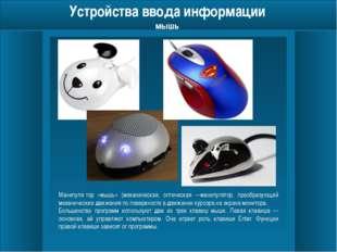 Устройства ввода информации сканер Сканер (англ. scanner) — устройство, выпо