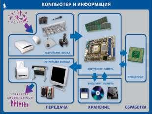 Внутренние устройства компьютера Видеокарта Процессор Жесткий диск Звуковая к