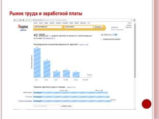 Рынок труда и заработной платы В России наблюдается нехватка технических спец