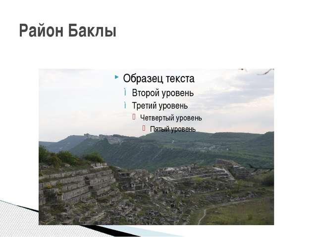 Район Баклы