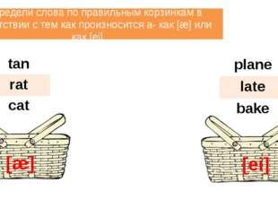Прочитай транскрипцию. Рядом напиши соответствующие английские слова. mad pla