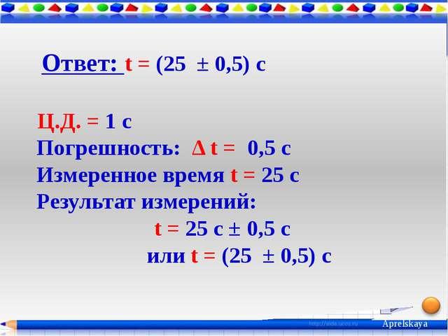 1. А.В. Пёрышкин. Физика.7 класс. – М. : Дрофа, 2013. Интернет-ресурсы. 1. Ап...