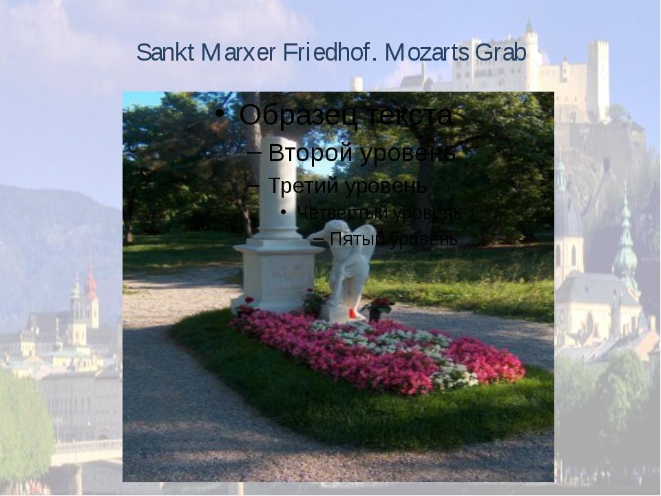 Sankt Marxer Friedhof. Mozarts Grab