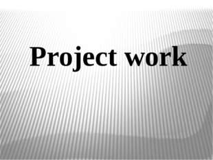 Project work