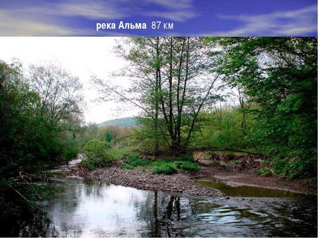 река Альма 87 км