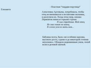 """- Властная """"гвардии поручица"""" Елизавета Алексеевна Арсеньева, потребовала, ч"""