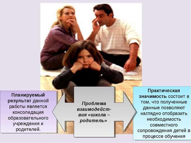 Планируемый результат данной работы является консолидация образовательного уч...