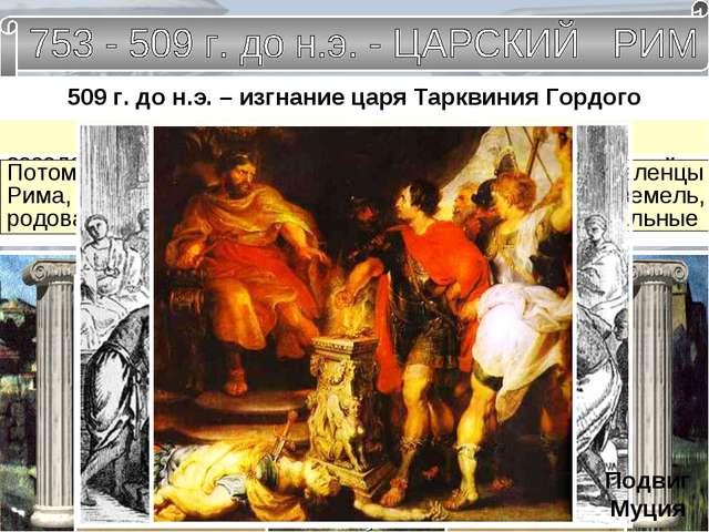Древнейший Рим. Рисунок нашего времени. ЦАРИ РИМА Ромул. Нума Помпилий. Тулл...