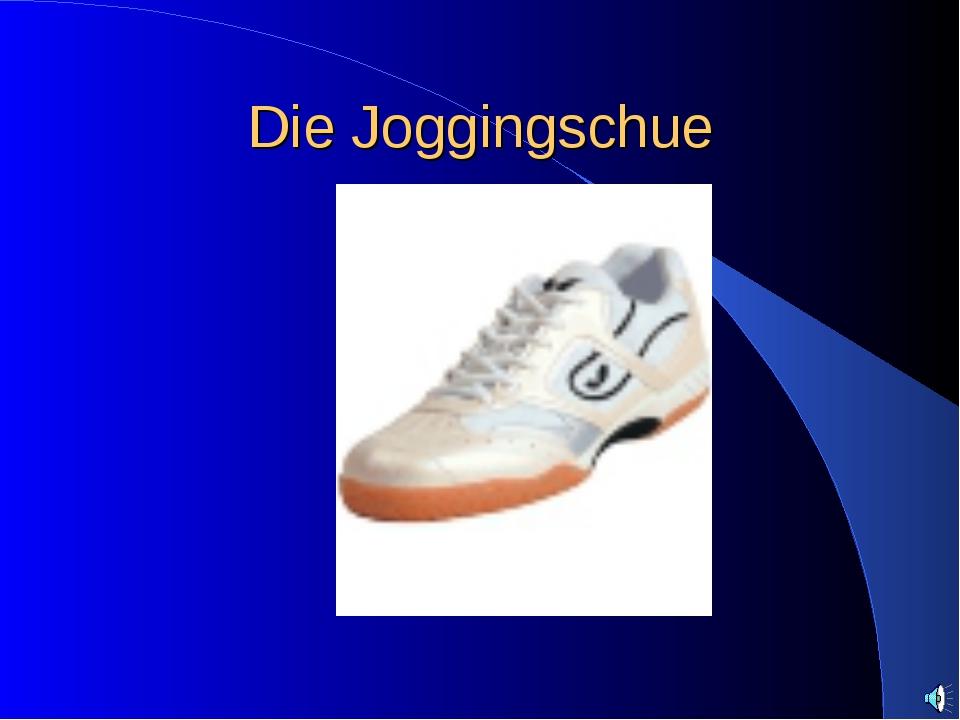 Die Joggingschue