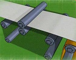 Сетка бумагоделательной машины