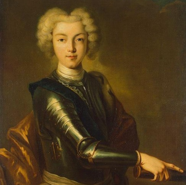 Пётр II Алексеевич, портрет неизвестного художника - Фотографии Андрей Панёвин