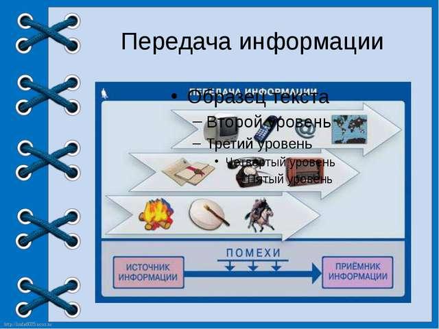Передача информации http://linda6035.ucoz.ru/