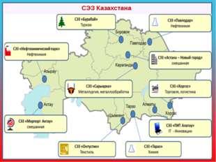 СЭЗ Казахстана «Астана – новый город» - автомобилестроение, авиационная, хим