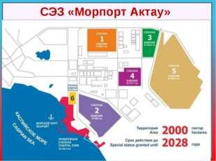 Место расположения: Республика Казахстан, г.Актау, территория морского порта