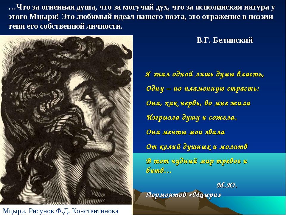 …Что за огненная душа, что за могучий дух, что за исполинская натура у этого...