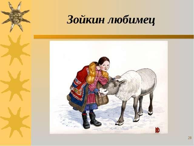 Зойкин любимец *