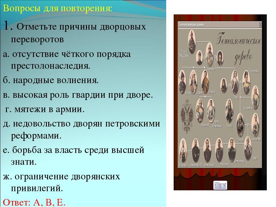 изображение особенности правления екатерины 2 в эпоху дворцовых переворотов кто хоть раз