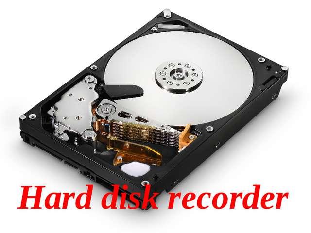 Hard disk recorder