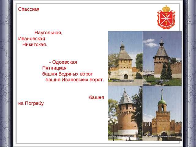 Спасская - у теперешней Крестовоздвиженской площади (площади Челюскинцев) и,...