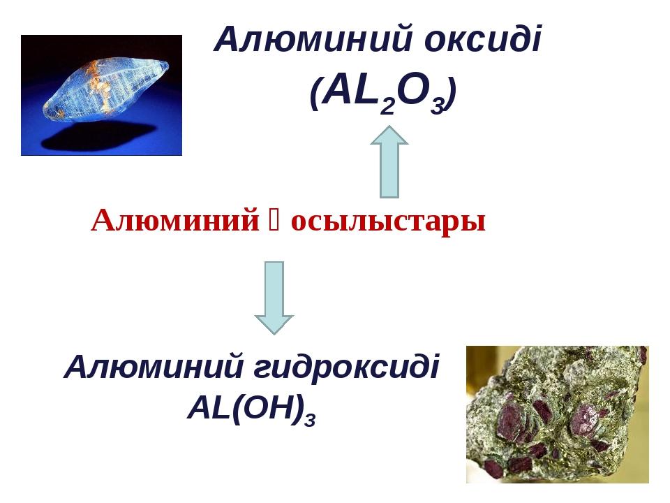 Алюминий қосылыстары Алюминий оксиді (AL2O3) Алюминий гидроксиді AL(OH)3
