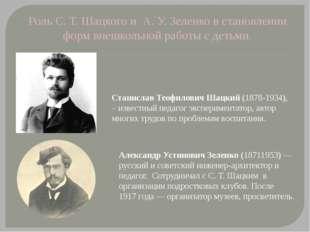 Станислав Теофилович Шацкий (1878-1934), – известный педагог экспериментатор