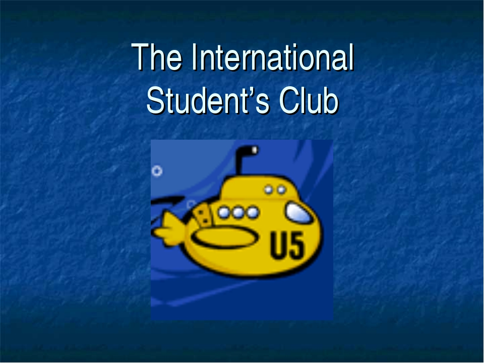 The International Student's Club