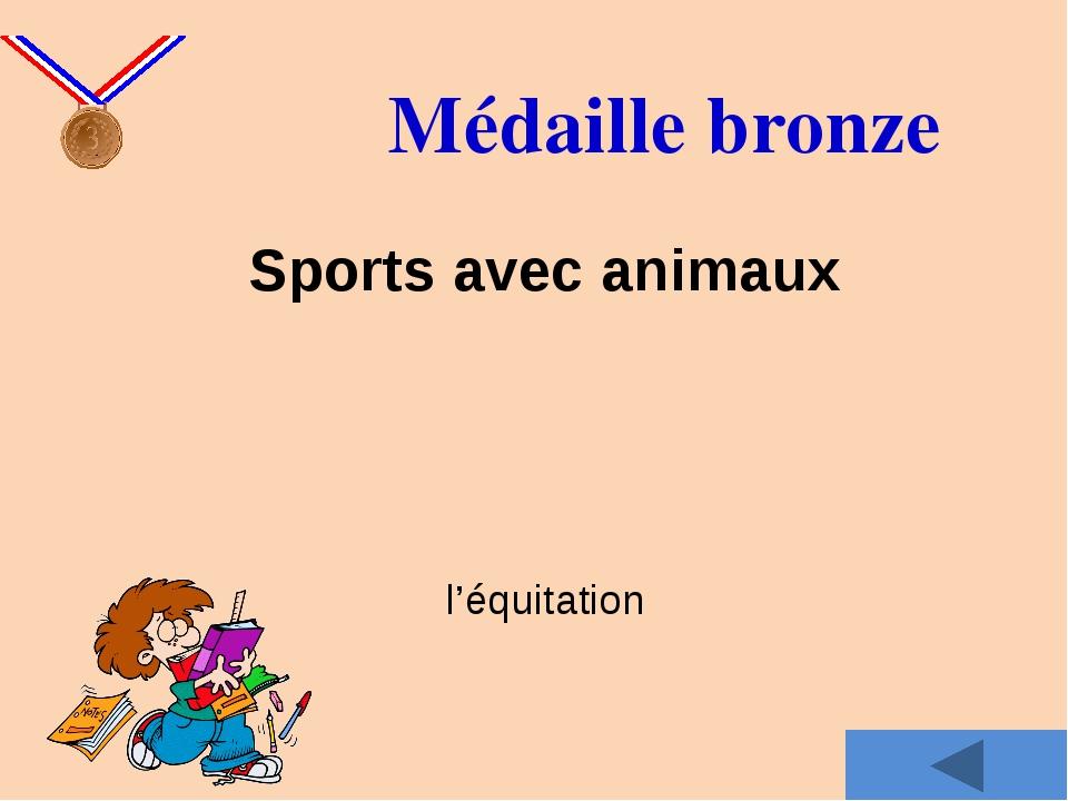 Médaille d'argent Quel est le sport le plus populaire de votre nation?