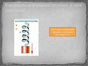 Деформация упругая полностью исчезает после прекращения действия внешних сил