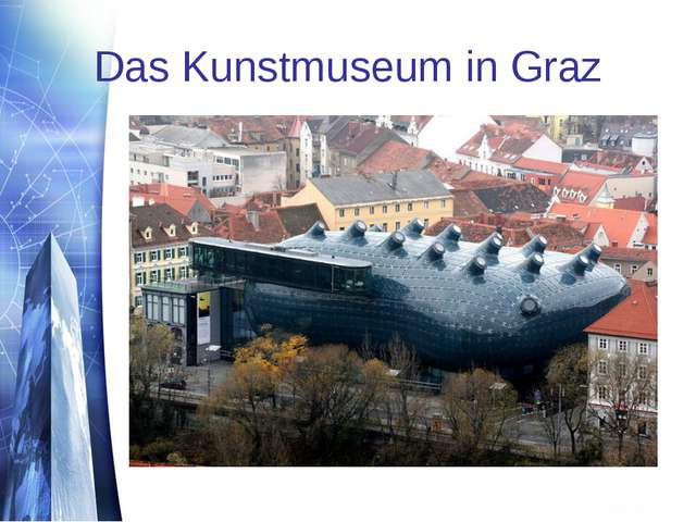 Das Kunstmuseum in Graz