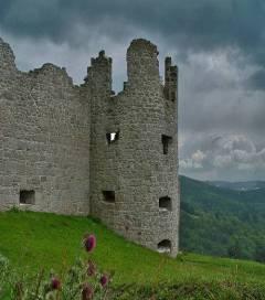 Руины крепости Флоссенбург(Германия)