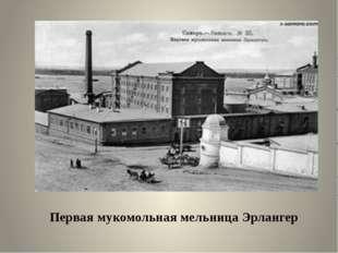 Первая мукомольная мельница Эрлангер