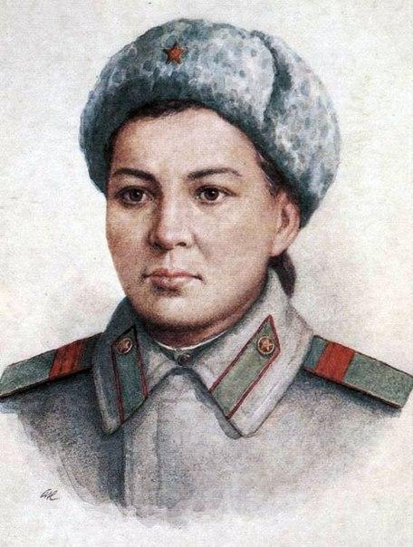 Маншук Жиенгалиевна Маметова (1922-1943) Manshuk Jiengalievna Mametova (1922-1943) - Герои Великой Отечественной войны