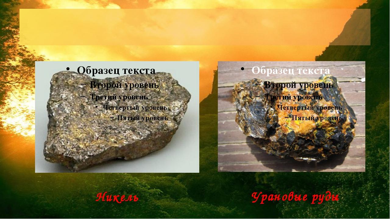 какие полезные ископаемые есть в приднестровье