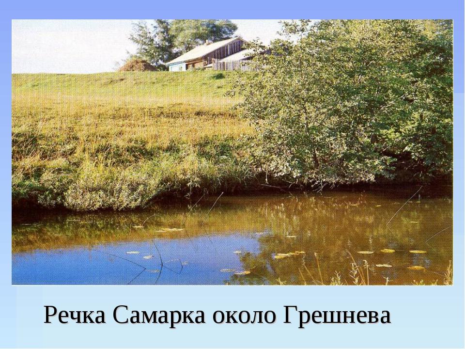 Речка Самарка около Грешнева