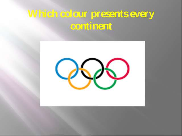 Which colour presents every continent