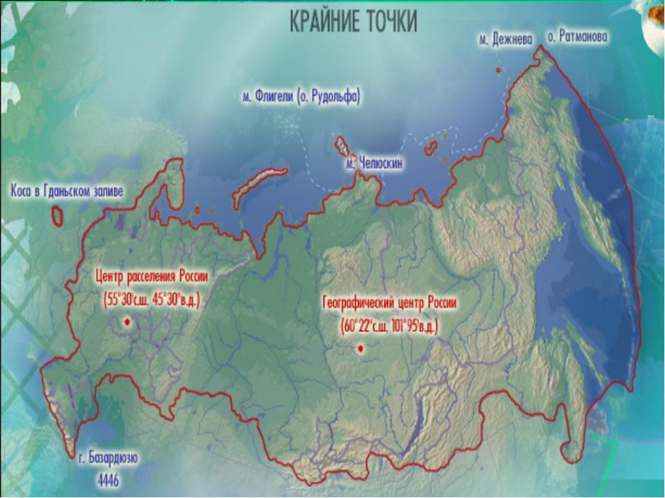 Протяжённость (длина сухопутных границ- 58 тыс.км.)