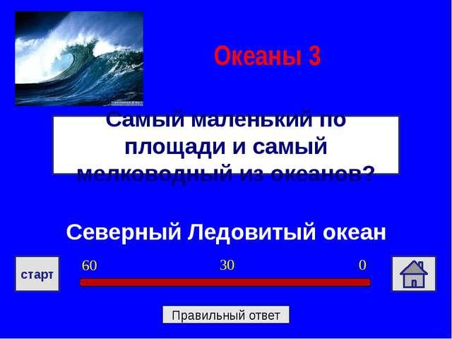 Северный Ледовитый океан Самый маленький по площади и самый мелководный из ок...
