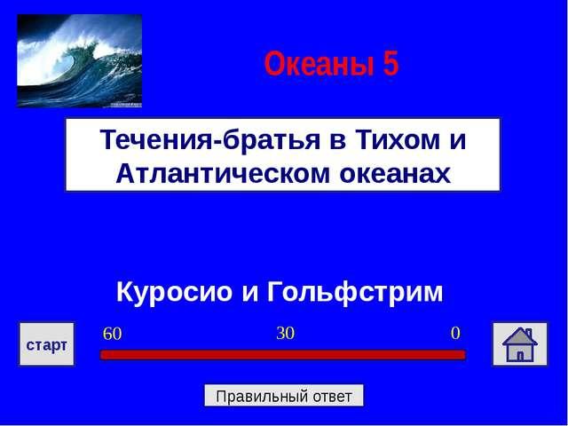 Куросио и Гольфстрим Течения-братья в Тихом и Атлантическом океанах Океаны 5...