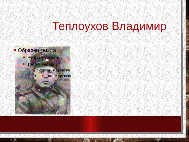 Теплоухов Владимир