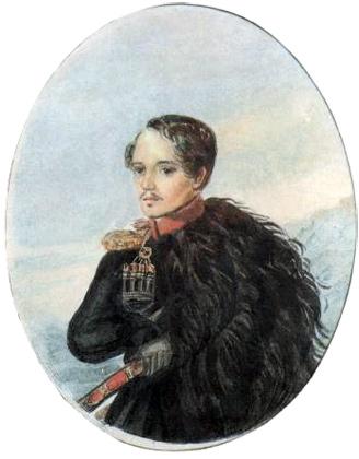 H:\Картины Лермонтова\галерея\Lermontov-Autoportrait.jpg
